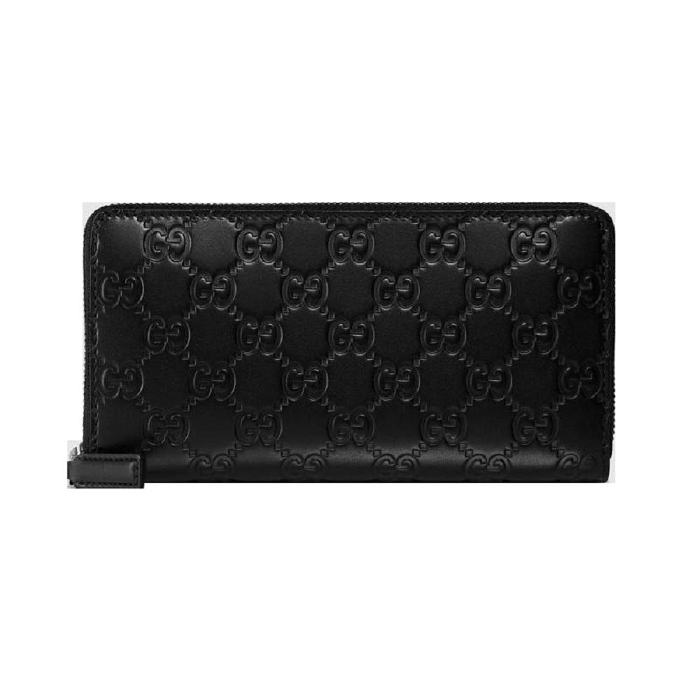 fc1c9c30d GUCCI Gucci wallet long wallet men leather long wallet signature black