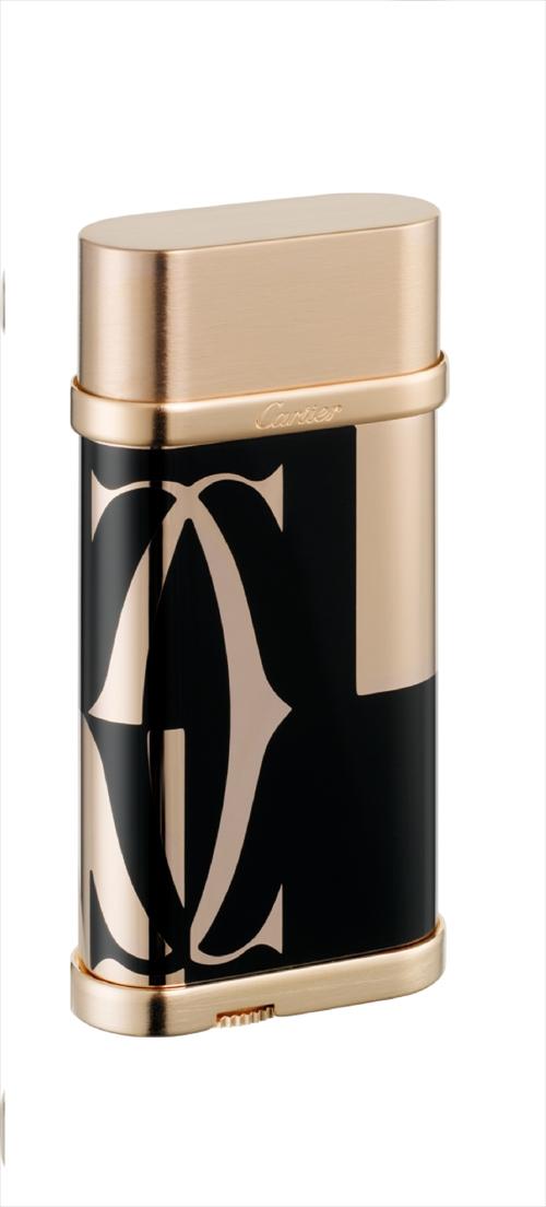 カルティエ Cartier ライター lighter ロゴタイプ デコール オーバル  ゴールド