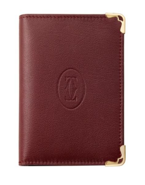 size 40 1e6b1 76f36 Cartier cartier men wallet mast do Cartier credit card card case holder bar  Gandhi L3001366