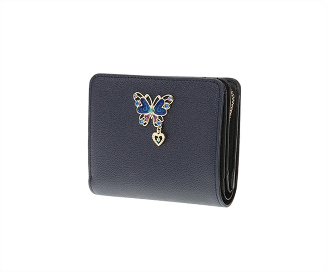 ANNA SUI アナ スイ グラマラス Lファスナー二つ折り財布 3カラー