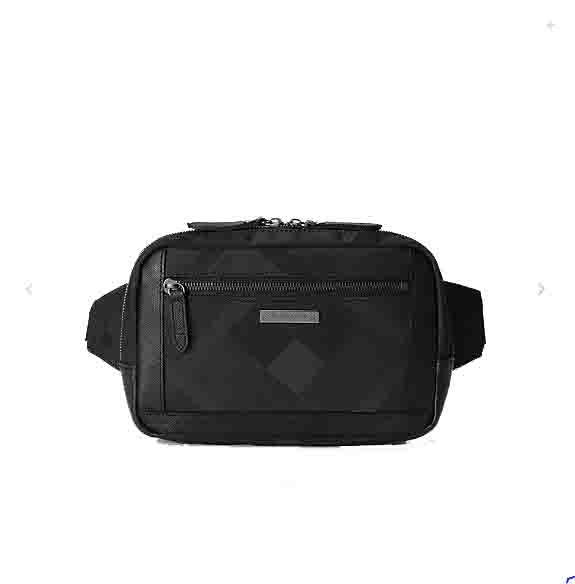 ブラックレーベル クレストブリッチ メンズ ブラックレーベル クレストブリッチ バッグ シャドークレストブリッジチェック ボディバッグ ブラック