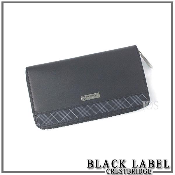 黑色的税,黑标冠桥黑色标签 CRESTBRIDGE 圆钱包