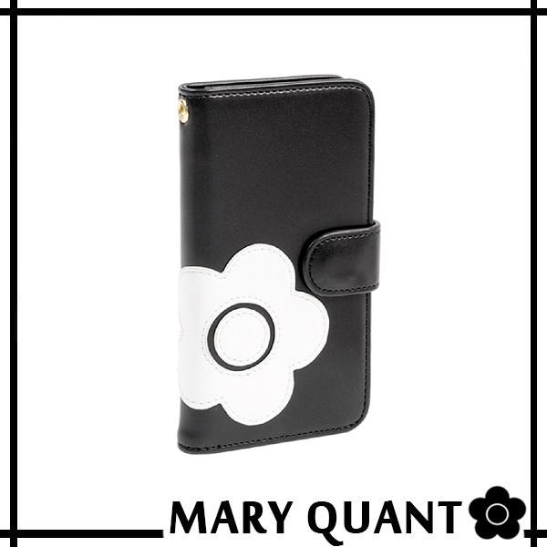 マリークワント MARY QUANT(マリクワ)(マリークアント) デイジーアイコン iphone カバー レディース iPhone7ケース (ブラック) 送料無料 代引き料有料 消費税込