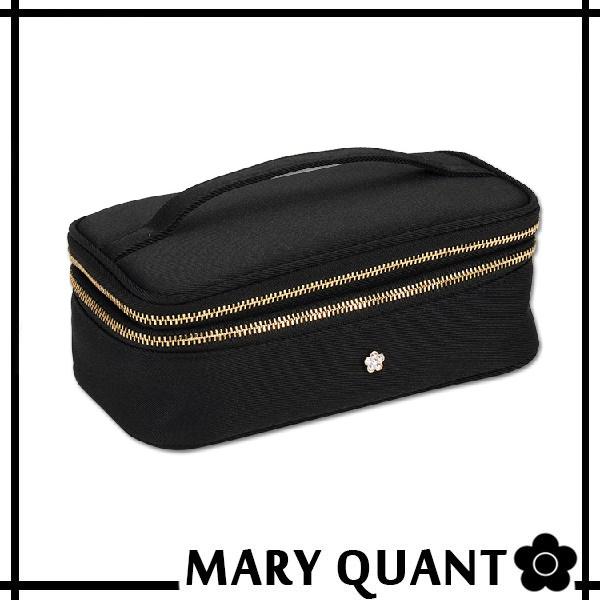マリークワント MARY QUANT(マリクワ)(マリークアント) バッグ オーロラストーンデイジー ショートバニティL(ブラック)送料無料・代引き料有料 消費税込