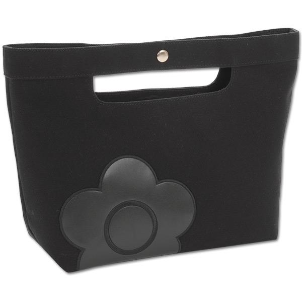 マリークワント MARY QUANT(マリクワ)(マリークアント) バッグ ニュアンスパッチ ミニトート ブラック