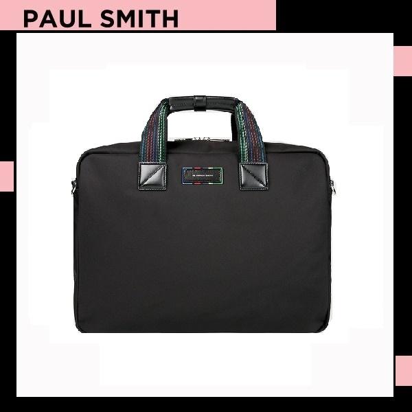 ポールスミス Paul Smith メンズ コレクション メンズ サイクル ストライプ ウェビング 3WAY ブリーフケース バッグ 送料無料 代引き料有料 消費税込