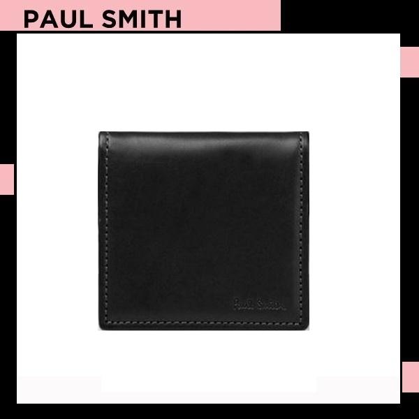 ポールスミス Paul Smith メンズ オールドレザー コインケース オールドレザー ブラック 送料無料 代引き料有料 消費税込