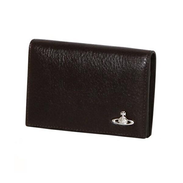 ヴィヴィアンウエストウッド Vivienne Westwood メンズ 財布 ORBスタンダード 二つ折り財布 ブラック