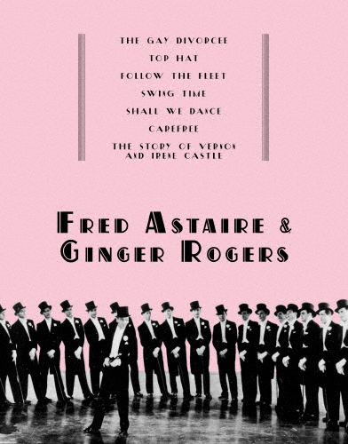 【送料無料】フレッド・アステア&ジンジャー・ロジャース Blu-ray BOX/フレッド・アステア[Blu-ray]【返品種別A】