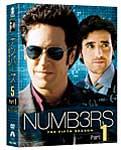 【送料無料】NUMB3RS 天才数学者の事件ファイル シーズン5 コンプリートDVD-BOX Part 1/ロブ・モロー[DVD]【返品種別A】