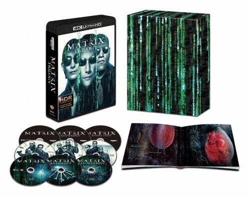 【送料無料】[枚数限定][限定版]【初回限定生産】マトリックス トリロジー 日本語吹替音声追加収録版<4K ULTRA HD&HDデジタル・リマスター ブルーレイ>/キアヌ・リーブス[Blu-ray]【返品種別A】