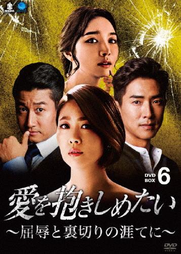 【送料無料】愛を抱きしめたい ~屈辱と裏切りの涯てに~ DVD-BOX6/キム・ジヨン[DVD]【返品種別A】