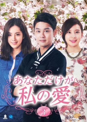 【送料無料】あなただけが私の愛 DVD-BOX3/ハン・チェア[DVD]【返品種別A】