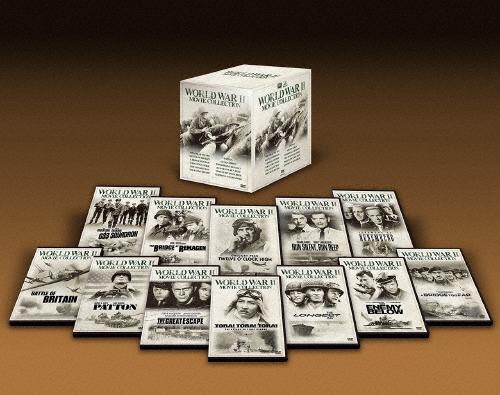 【送料無料】[限定版]映画で振り返る第二次世界大戦DVD-BOX〔初回生産限定〕/スティーブ・マックィーン[DVD]【返品種別A】