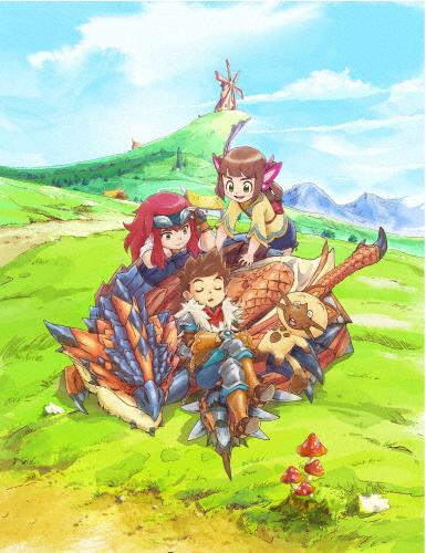 【送料無料】モンスターハンター ストーリーズ RIDE ON Blu-ray BOX Vol.1/アニメーション[Blu-ray]【返品種別A】