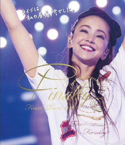 【送料無料】【通常盤Blu-ray】namie amuro Final Tour 2018 ~Finally~(東京ドーム最終公演+25周年沖縄ライブ)/安室奈美恵[Blu-ray]【返品種別A】