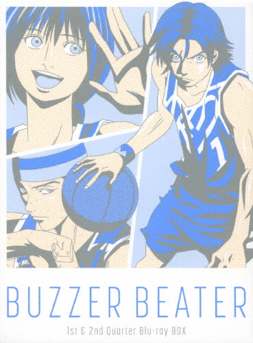【送料無料】BUZZER BEATER 1st & 2nd Quarter Blu-ray BOX/アニメーション[Blu-ray]【返品種別A】