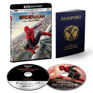 【送料無料】[枚数限定][限定版][上新オリジナル特典付]スパイダーマン:ファー・フロム・ホーム 4K ULTRA HD & ブルーレイセット(初回生産限定) /トム・ホランド[Blu-ray]【返品種別A】