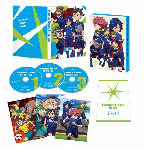 【送料無料】イナズマイレブン オリオンの刻印 DVD BOX 第1巻/アニメーション[DVD]【返品種別A】