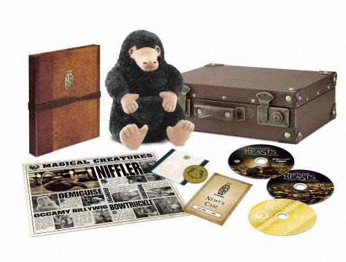【送料無料】[枚数限定][限定版]【1,000セット限定生産】ファンタスティック・ビーストと魔法使いの旅 プレミアムBOX<シリアル番号入り認定証付>/エディ・レッドメイン[Blu-ray]【返品種別A】