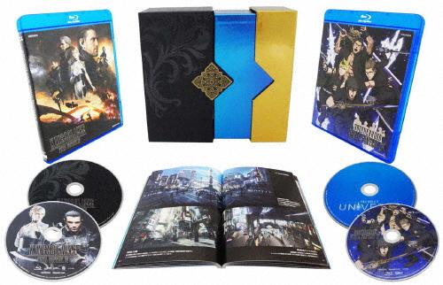 【送料無料】[枚数限定][限定版]Film Collections Box FINAL FANTASY XV【Blu-ray】/アニメーション[Blu-ray]【返品種別A】