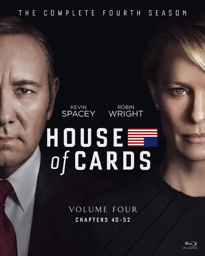 【送料無料】ハウス・オブ・カード 野望の階段 SEASON4 Blu-ray Complete Package(デヴィッド・フィンチャー完全監修パッケージ仕様)/ケヴィン・スペイシー[Blu-ray]【返品種別A】