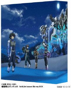 【送料無料】[枚数限定][限定版]機動戦士ガンダム00 1st&2nd season Blu-ray BOX/アニメーション[Blu-ray]【返品種別A】