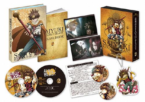【送料無料】最遊記 RELOAD BLAST 第2巻【Blu-ray】/アニメーション[Blu-ray]【返品種別A】