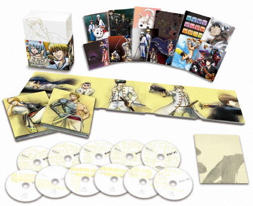 【送料無料】[枚数限定][限定版]銀魂'Blu-ray Box 下(完全生産限定版)/アニメーション[Blu-ray]【返品種別A】