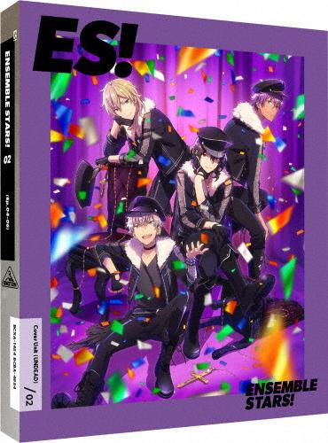 【送料無料】[限定版]あんさんぶるスターズ! 02(特装限定版)【Blu-ray】/アニメーション[Blu-ray]【返品種別A】