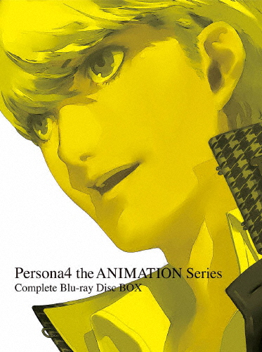 【送料無料】[限定版]Persona4 the ANIMATION Series Complete Blu-ray Disc BOX(完全生産限定版)/アニメーション[Blu-ray]【返品種別A】