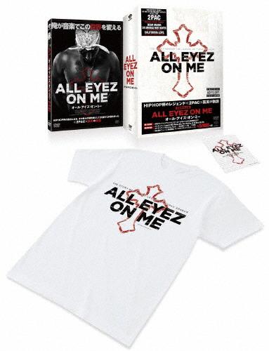 【送料無料】[枚数限定][限定版]オール・アイズ・オン・ミー Tシャツ・ステッカー付きBOX(初回限定生産)/ディミートリアス・シップ・ジュニア[Blu-ray]【返品種別A】