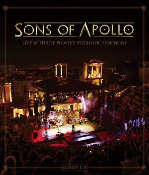 【送料無料】LIVE WITH THE PLOVDIV PSYCHOTIC SYMPHONY(BLU-RAY)【輸入盤】▼/SONS OF APOLLO[Blu-ray]【返品種別A】