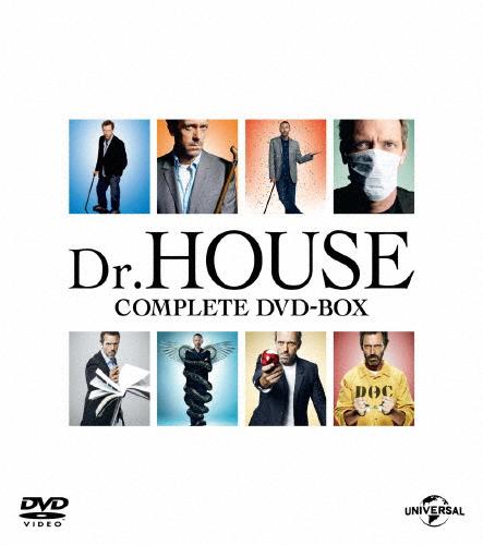 【送料無料】【NBC全シリーズコンプリート】Dr.HOUSE/ドクター・ハウス コンプリート DVD BOX/ヒュー・ローリー[DVD]【返品種別A】