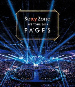 【送料無料】Sexy Zone LIVE TOUR 2019 PAGES(Blu-ray)/Sexy Zone[Blu-ray]【返品種別A】