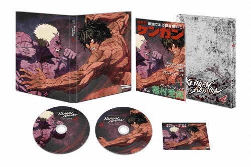 【送料無料】ケンガンアシュラ【4】【DVD】/アニメーション[DVD]【返品種別A】