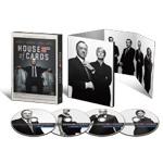 【送料無料】ハウス・オブ・カード 野望の階段 SEASON 1 DVD Complete Package<デヴィッド・フィンチャー完全監修パッケージ仕様>/ケヴィン・スペイシー[DVD]【返品種別A】