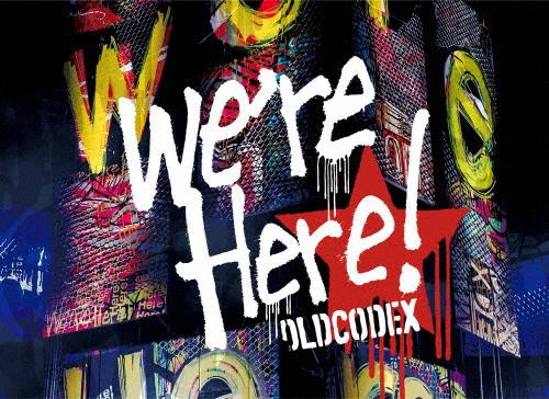 """【送料無料】OLDCODEX Live Blu-ray """"we're Here!"""