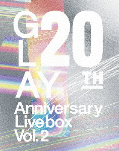 【送料無料】GLAY 20th Anniversary LIVE BOX VOL.2/GLAY[Blu-ray]【返品種別A】