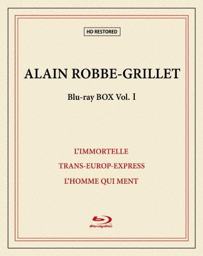 【送料無料】[枚数限定][限定版]アラン・ロブ=グリエ Blu-ray BOX I(限定生産)/アラン・ロブ=グリエ[Blu-ray]【返品種別A】