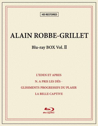 【送料無料】[枚数限定][限定版]アラン・ロブ=グリエ Blu-ray BOX II(限定生産)/アラン・ロブ=グリエ[Blu-ray]【返品種別A】