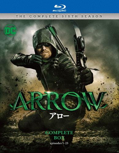【送料無料】ARROW/アロー〈シックス・シーズン〉 ブルーレイ コンプリート・ボックス/スティーヴン・アメル[Blu-ray]【返品種別A】