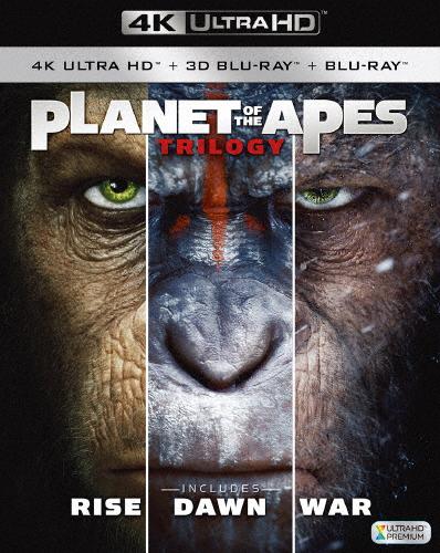 【送料無料】猿の惑星 トリロジーBOX<4K ULTRA HD+3D+2Dブルーレイ>/アンディ・サーキス[Blu-ray]【返品種別A】