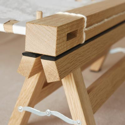 """Embroidery Tabrame"" Stepladder (taboret expense)"