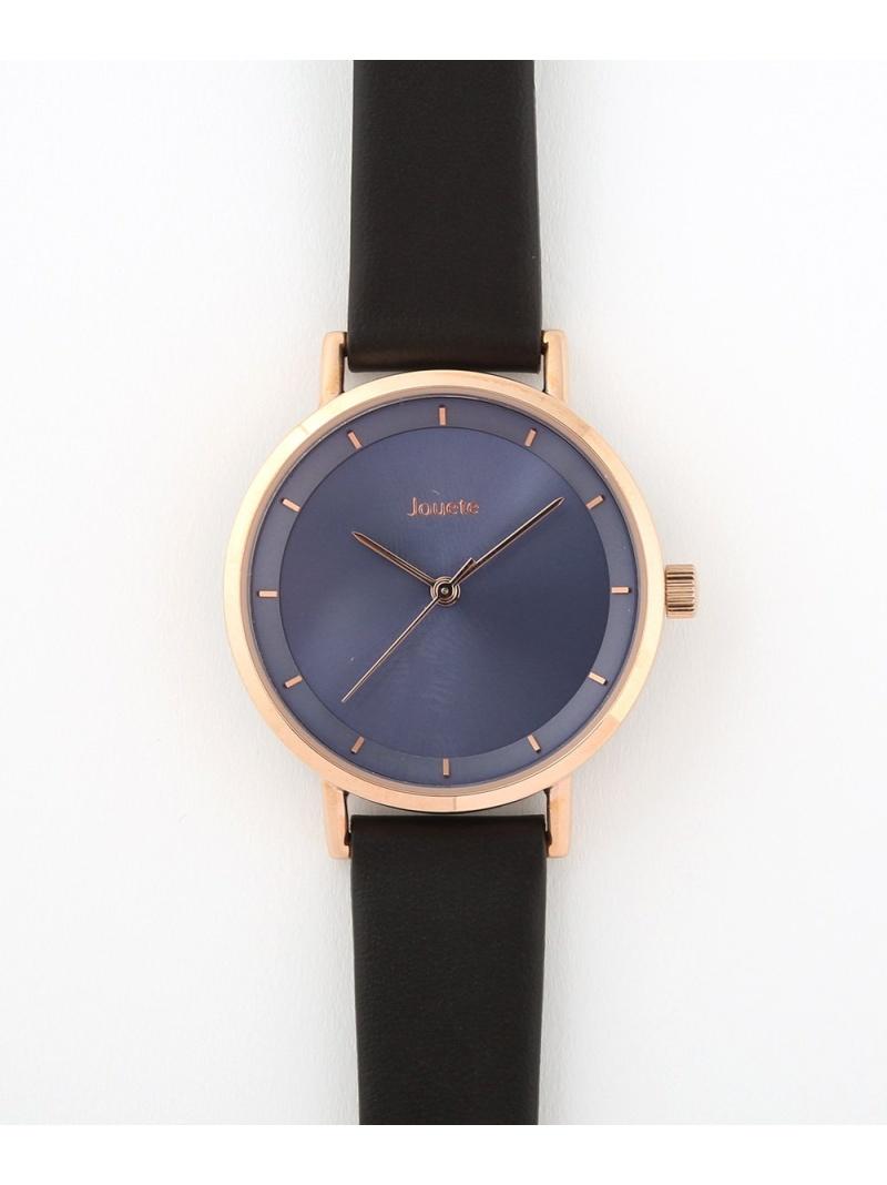 Jouete レディース ファッショングッズ ジュエッテ 着後レビューで 送料無料 Rakuten Fashion 腕時計 年末年始大決算 タイムピース ゴールド ブラック 送料無料