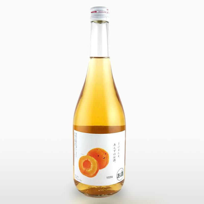 あんず リキュール 国内即発送 そのまんまあんずのお酒 果汁たっぷり フルーツ 720ml 中古