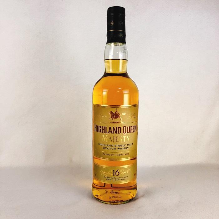 送料無料 ウイスキー ハイランドクイーン16年 700ml スコッチウイスキー シングルモルト