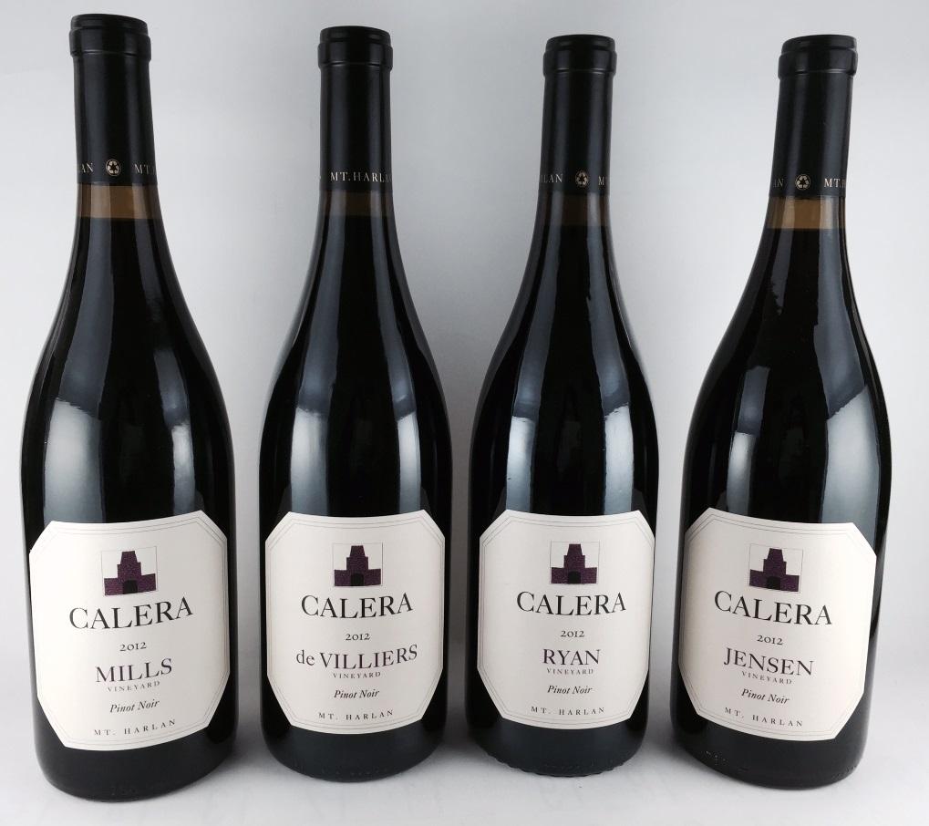 ワインセット 赤ワイン 送料無料 数量限定 カリフォルニアワイン 「カレラ ピノ・ノワール」 飲み比べ 4本セット