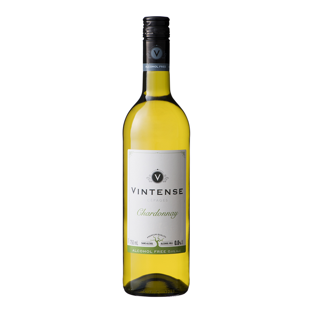 高品質新品 ノンアルコールワイン 白ワイン ヴィンテンス シャルドネ 送料無料でお届けします 750ml ベルギー大使館推奨