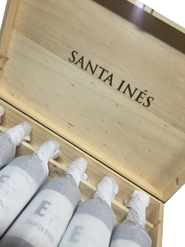 赤ワイン チリワイン サンタ イネス E7 木箱入り 750ml ケース販売 6本入り